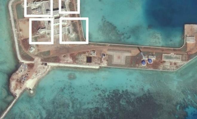 Пекин превращает искусственные острова в настоящие военные крепости и захватывает все Южно-Китайское море