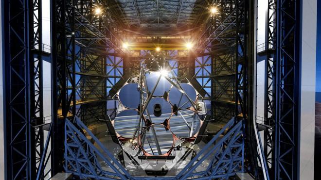 Новый гигантский телескоп станет самым большим оптическим прибором в истории