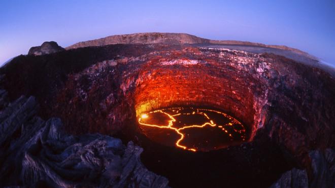 йелоустоунский вулкан