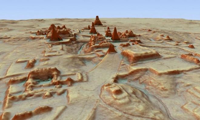 Археологи обнаружили под джунглями Гватемалы гигантский город майя, в котором могли проживать до 10 миллионов человек