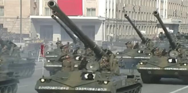 Северная Корея показала свою военную мощь прямо перед Олимпиадой