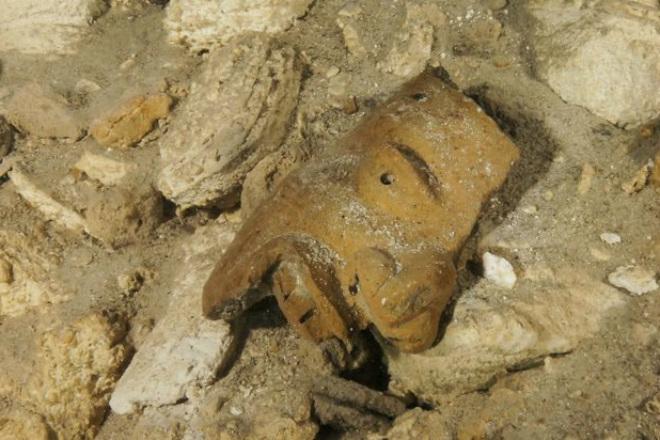 В подводной пещере нашли артефакты, которым 9 тысяч лет