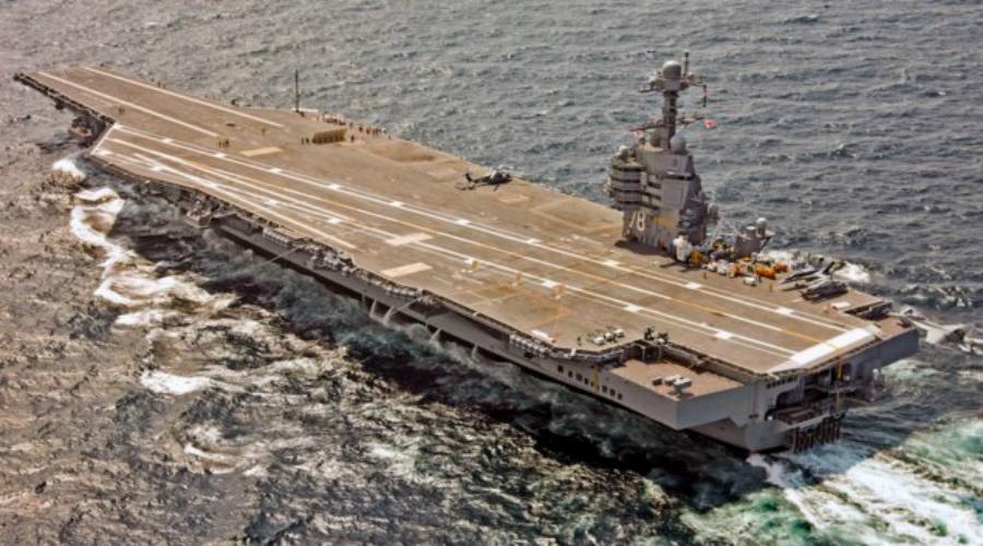USS Gerald R. Ford USS Gerald R. Ford был заложен в ноябре 2009 года, завершен в октябре 2013 года и введен в эксплуатацию в июле 2017 года. Это самый дорогой военный корабль в мире — Пентагону он обошелся в целых 13 миллиардов долларов. Авианосец стал первым в истории кораблем такого класса с элементами стелс-технологий: предполагается, что он будет практически невидим для радиолокаторов противника.