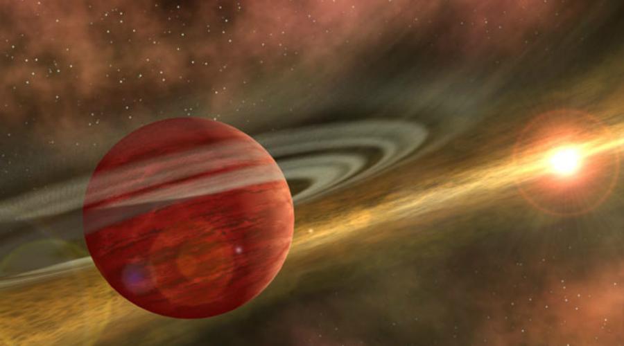 Венера И финалист списка находится совсем неподалеку, в нашей Солнечной системе. Вообще-то, мы просто не умеем пока наблюдать погодные условия на далеких экзопланетах, поэтому и приходится довольствоваться теми, что лежат поближе. Венера занимает первое место в категории «планета с худшей погодой»: ее атмосфера движется быстрее, чем вращается сама планета. К тому же, она в 100 раз плотнее атмосферы Земли и на 95% состоит из углекислого газа. Добавляет радости парниковый эффект, благодаря которому на поверхности Венеры стоит жара в 460 градусов Цельсия.