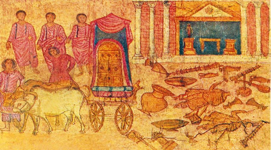 Филистимляне Филистимляне прибыли в Левант (область, которая сегодня включает Израиль, Палестину и Ливан) около 3200 лет назад. Но это практически единственная информация, которая нам о них достоверно известна. Остальные сведения ученые черпают из египетских текстов, а они были необъективны к этому народу. С тех пор филистимляне приобрели репутацию воинственных людей, которые не ценят культуру и искусство. Но новые раскопки в Гате и Ашкелоне, похоже, могут навсегда переменить представление об этом наиболее загадочном древнем народе, а также о том, почему о них совсем не осталось правдивой информации.