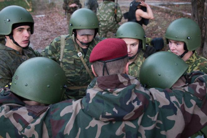 Бой за берет: как получают свой знак российские спецназовцы