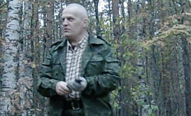 Эксперт показал бросок клинка по школе НКВД