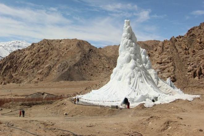 Как хранят воду в Гималаях