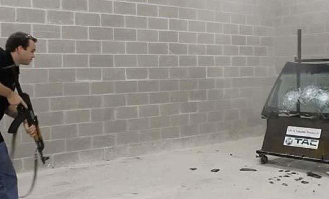 Как делают бронестекло (2 фото + видео)