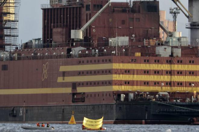 Как устроен первый в мире плавучий ядерный реактор