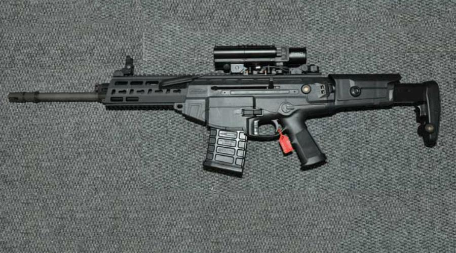 Beretta ARX-200 Самозарядная винтовка Beretta ARX-200 была разработана по заказу итальянской армии для бойцов спецподразделений, которым требовалось более мощное и дальнобойное оружие. Повышенная точность стрельбы, модульность конструкции и мощный патрон 7,62х51мм — итальянский оружейный концерн создал очередной шедевр.