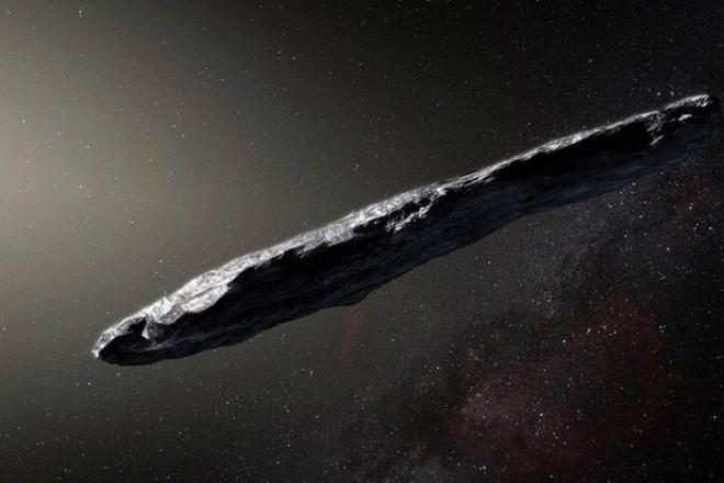Таинственный камень из глубин космоса прилетел в Солнечную систему и испугал ученых (3 фото)