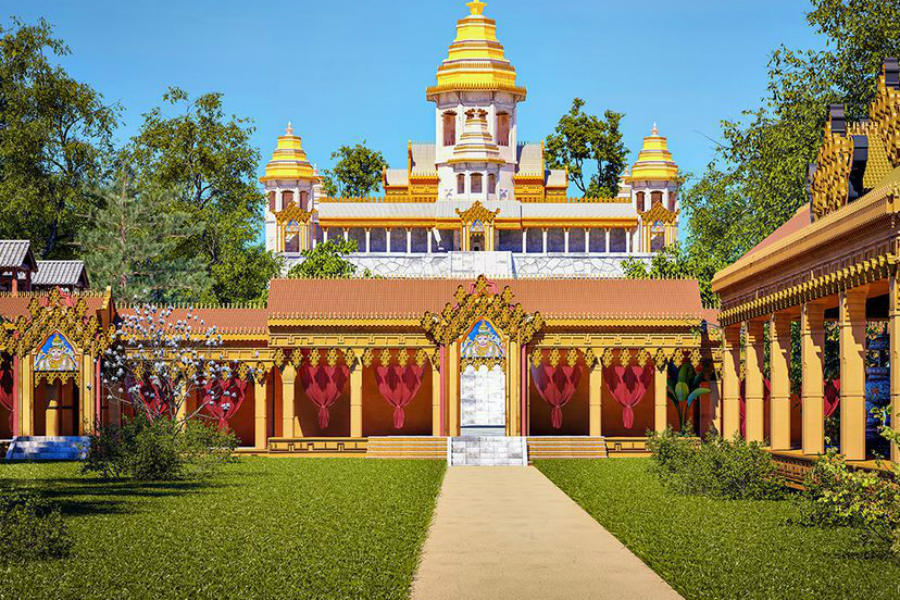 Ангкор-Ват Прошлое До наших дней не сохранились многие постройки комплекса. Разрушились под своим весом изящные башни, пропали целые уровни величественных дворцов, искрошились в каменную пыль широкие лестницы.