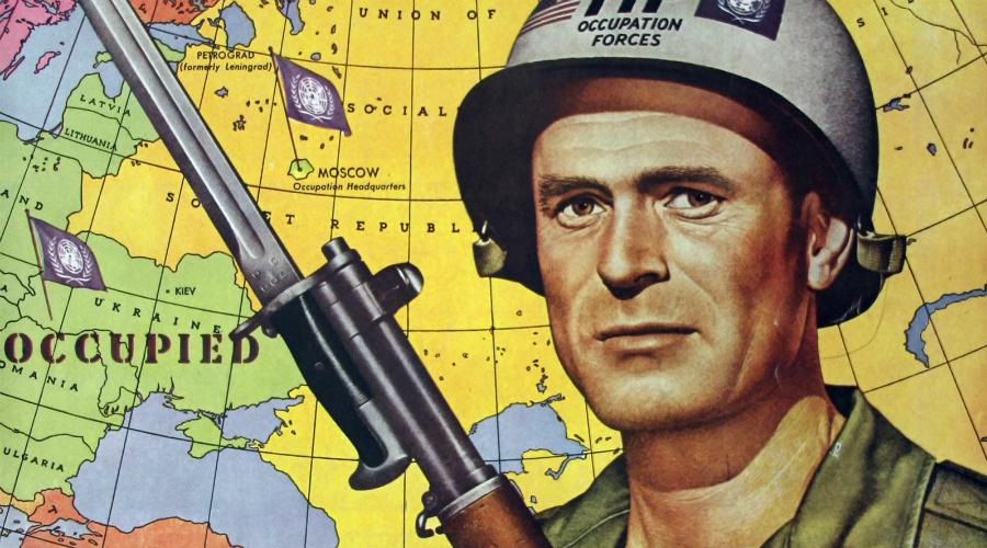 Политика силы Стало понятно, что США предпочтут продолжать политику силы, опираясь на европейских союзников. Со стороны предложение СССР выглядело идеальным: вместо наращивания противостоящих друг другу военных группировок в Европе, Москва предлагала создать единую систему коллективной безопасности. Однако, обмануть европейцев Хрущеву не удалось — инициатива была названа очередной попыткой СССР по захвату политического влияния.