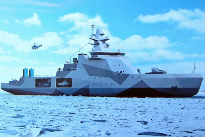 Боевой ледокол: корабль для операций в Арктике