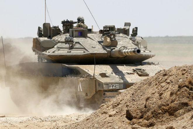 Секретный танк Израиля случайно попал на фото