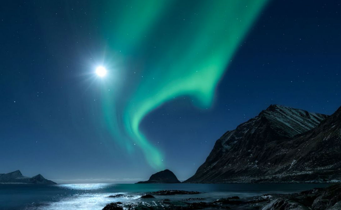 По дороге полярного сияния Автор: Николас Лефодо