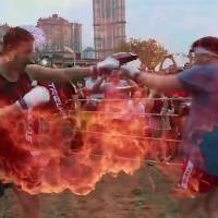 Корейский самурай вышел на ринг против ММА-качка