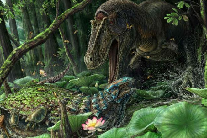 Динамотеррор: динозавр, который был опаснее тираннозавра