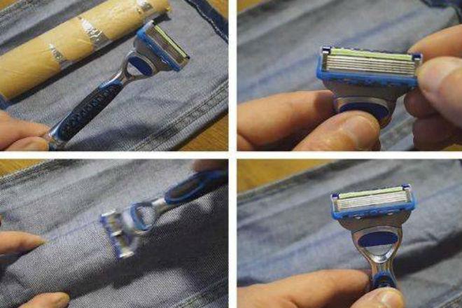 Как заточить одноразовую бритву Жиллет до максимальной остроты