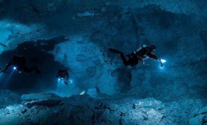 Подводный мир Ординской пещеры