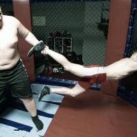 Гигант 160 кг против бойца 60 кг