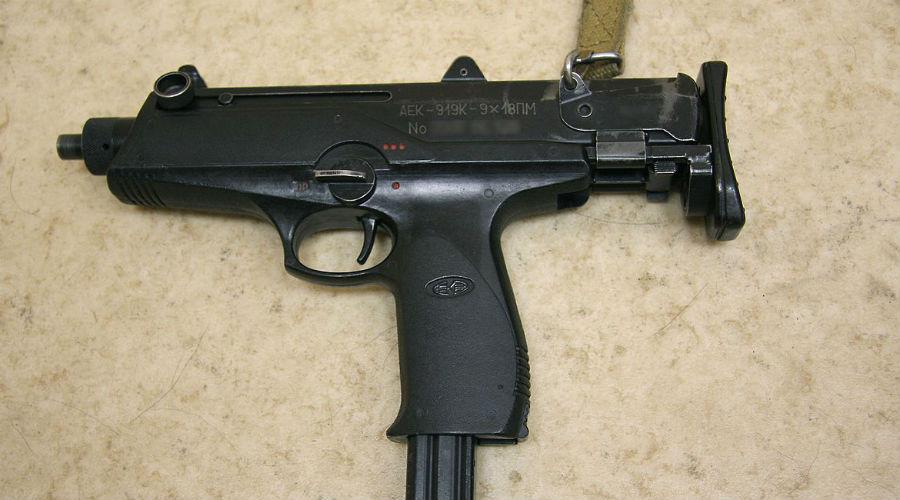ПП Каштан Пистолет-пулемет АЕК 919 был разработан еще в середине 90-х годов. Машинка получилась очень удачной, она и сегодня активно используется для вооружения экипажей патрульно-постовой службы.