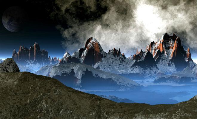 Глубоко под земной поверхностью нашли горы, которые выше Гималаев