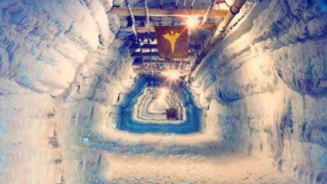 Подземный город внутри ледника: тоннели нашли случайно когда лед начал таять