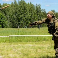 Спецназ ГРУ: техника метания лопаты