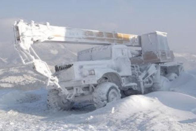 Север ошибок не прощает: ледяная пустыня против техники