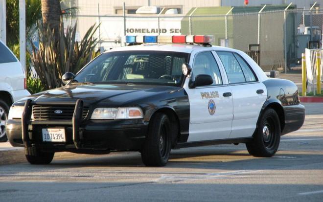 Особая машина американских полицейских