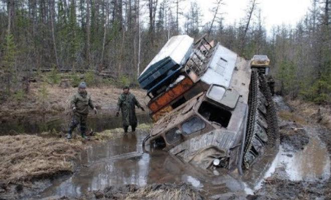 Витязь ДТ 30П: вездеход-монстр для российского бездорожья