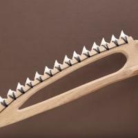 Нож из зуба акулы: пробуем в деле