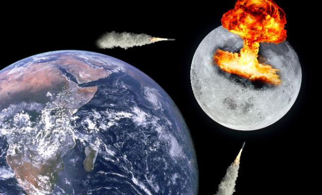 Атомный взрыв на Луне: военные планировали тайные испытания