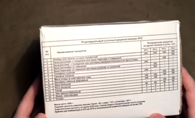 Сухпай заключенного: 50 рублей в день