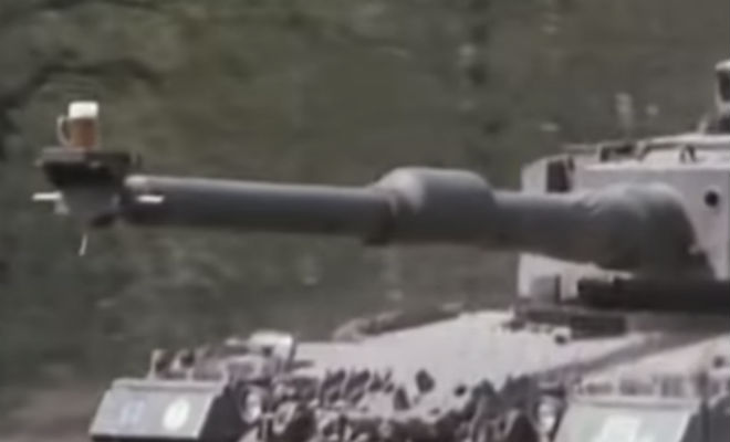 Кружка пива на стволе: проверка стабильности танка