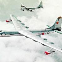 Ядерный бомбардировщик из 50-х: секретный самолет-гигант