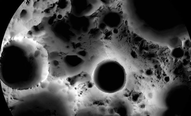 Потерянный космический аппарат исчез с поверхности Луны