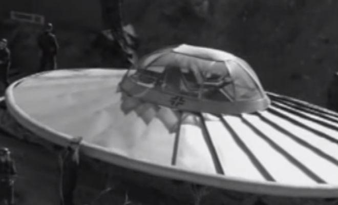 Боевые НЛО Рейха: документальные съемки прототипов