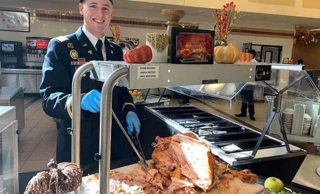 Столовая солдат США: что едят военные на обед