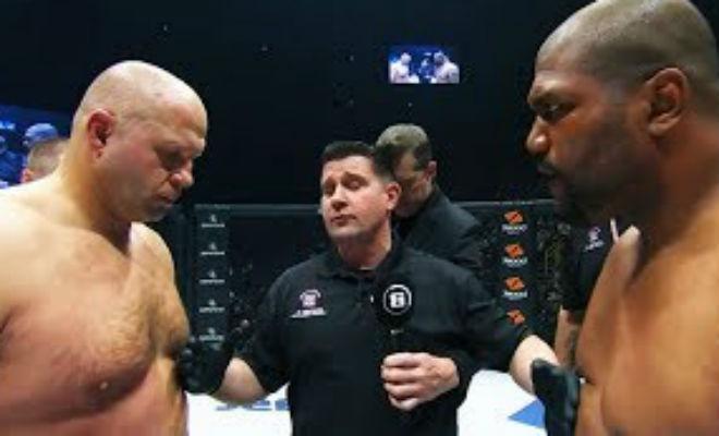 Федор Емельяненко остановил яростного соперника в первом раунде