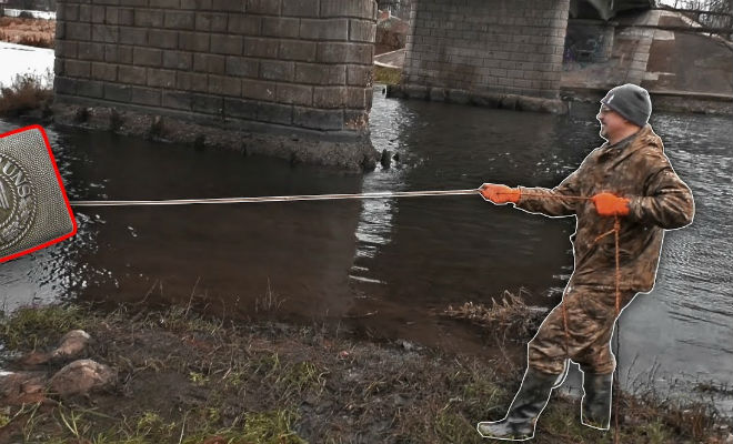 Черные поисковики раскопали село со дна высохшей реки
