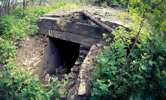 Бункер в лесу не трогали со времен войны: копатели нашли его первыми и вошли внутрь