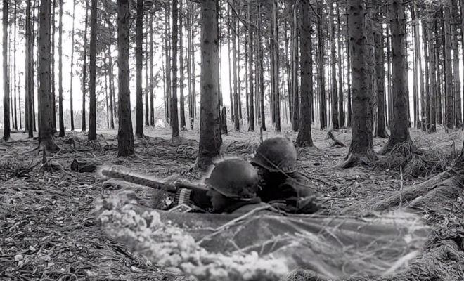Оставленная бойцом пулеметная позиция: удача черных копателей