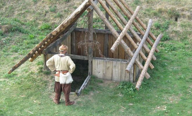 Убежище викингов: строим как 1000 лет назад подручными инструментами